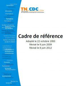 TN CDC Cadre de référence