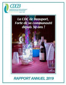 Rapport 2019 CDCB