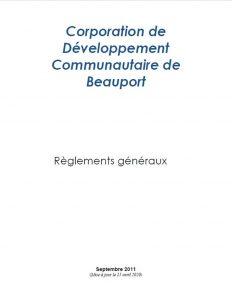 Règlements CDCB